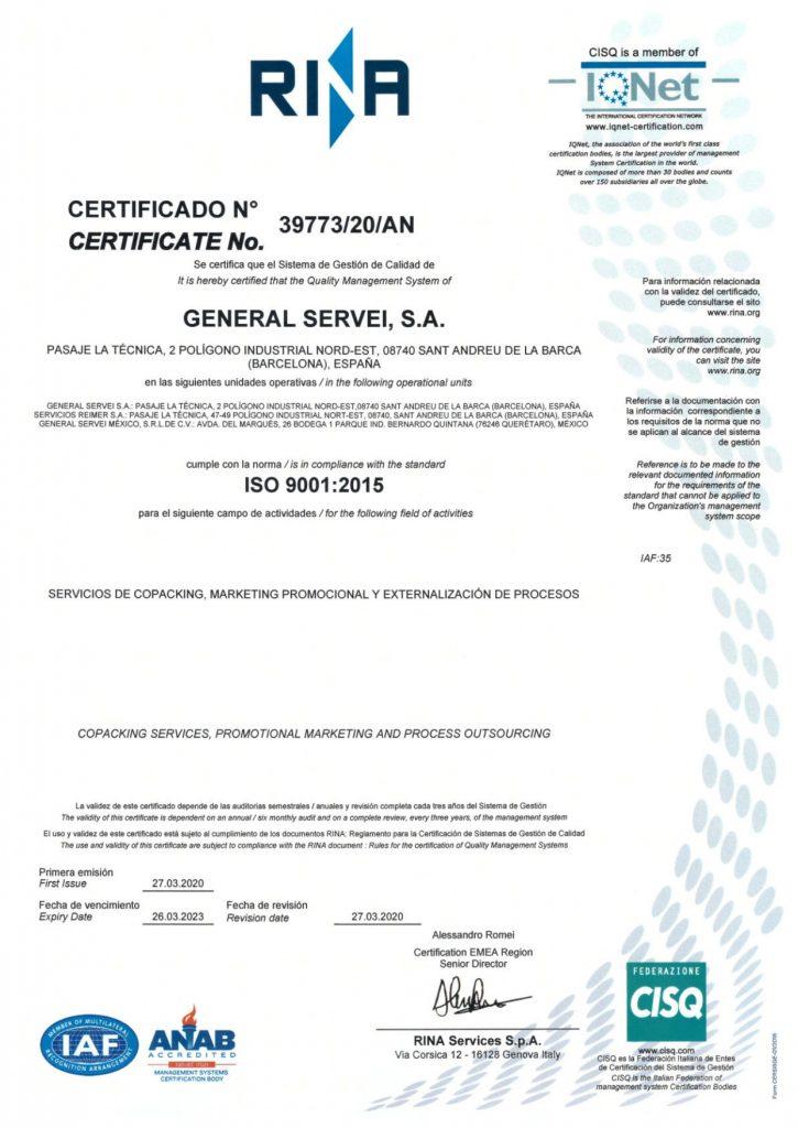 ISO-9001-GENERAL-SERVEI-CERTIFICADO-ANAB